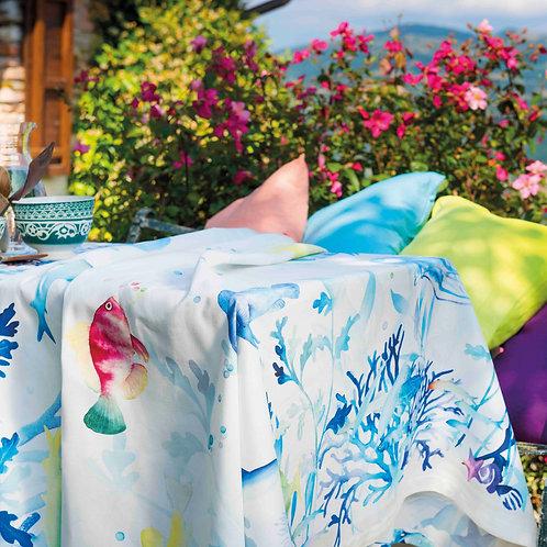 Nappe MAREA Coton - Tessitura Toscana Telerie et La Girafe Bleue