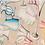 Thumbnail: Nappe CHEERS Coton - Tessitura Toscana Telerie et la Girafe Bleue