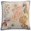 Thumbnail: Coussin carré JELLY Lin - Tessitura Toscana Telerie et la Girafe Bleue