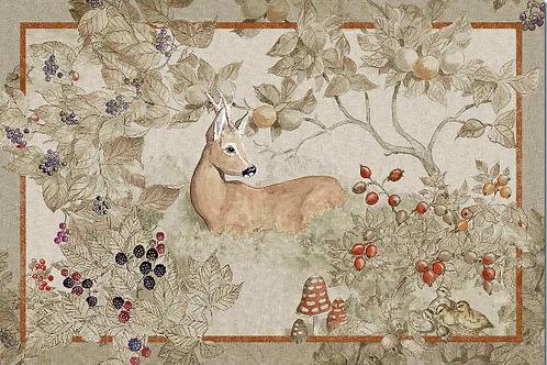 Tapis NORMA - Tessitura Toscana Telerie et La Girafe Bleue
