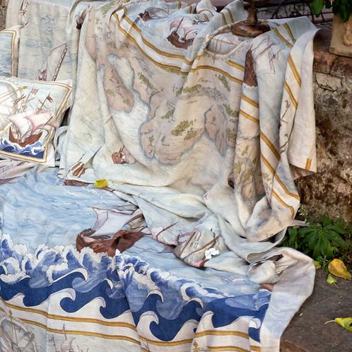 Mezzero BOUNTY Lin - Tessitura Toscana Telerie et la Girafe Bleue