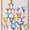 Thumbnail: Torchon CRYSTAL Blu Lin - Tessitura Toscana Telerie et La Girafe Bleue