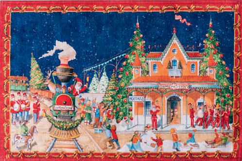 Tapis CHRISTMAS EXPRESS -  Tessitura Tpscana Telerie