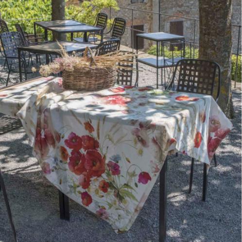 Nappe COQUELICOT - Tessitura ToscanaTelerie