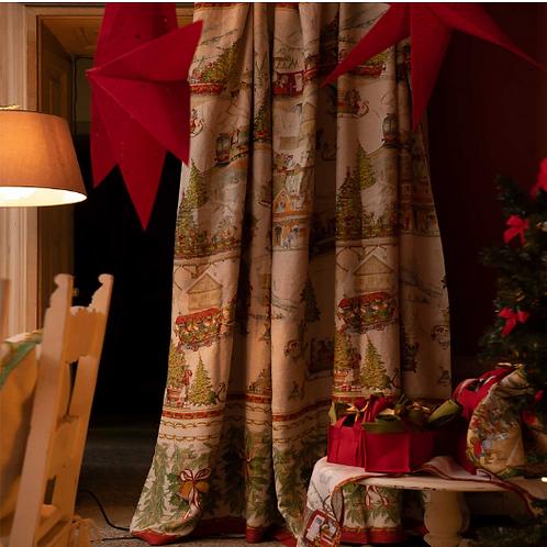 Mezzero CHRISTMAS EXPRESS - Tessitura Toscana Telerie
