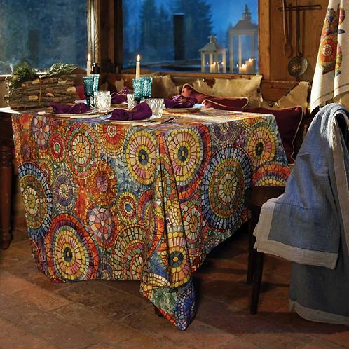 Nappe MONREALE Coton - Tessitura Toscana Telerie et La Girafe Bleue
