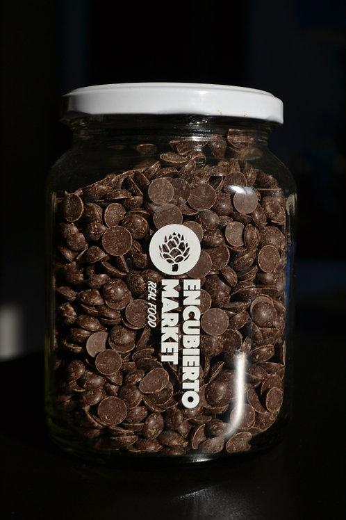Chocolate 70% cacao sin azúcar