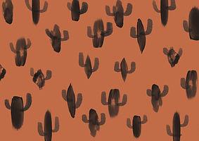 Motif cactus