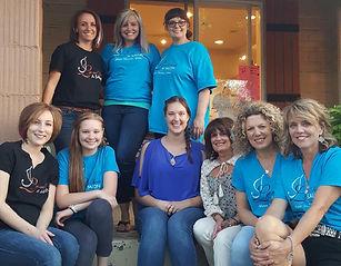 Staff of J. Lyn and Friends Salon