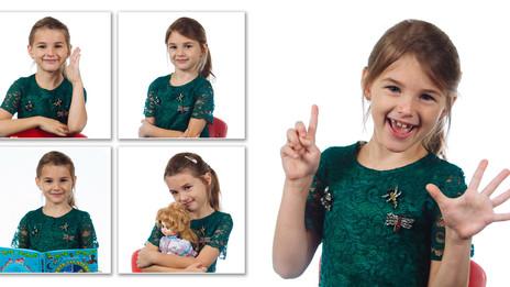 Фотопроект «День в детском саду». Примеры работ