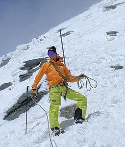 Den Großglockner als Skitour zu besteigen hat einige Vorteile: Gute Verhältnisse am Glocknerleitl und auch am Gipfelgrat, Genussabfahrt im Firn als krönender Abschluss