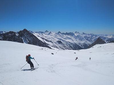 Sehr eindrucksvolle Ski-Hochgebirgsdurchquerung über 7 Tage inkl. Großvenediger und als krönenden Abschluss die Skibesteigung des Großglockners.