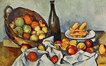 Paul-Cézanne-'Cesto-de-manzanas'-detalle