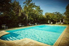 Large Pool at Villa Buoninsegna