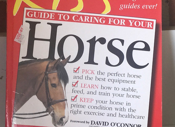 K.I.S.S guide to caring for your horse