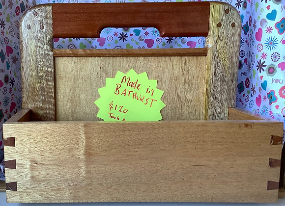 Handcrafted tack box