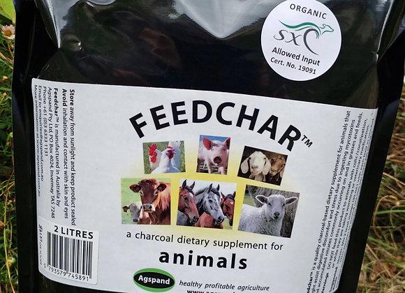Feedchar Organic mineral–charcoal
