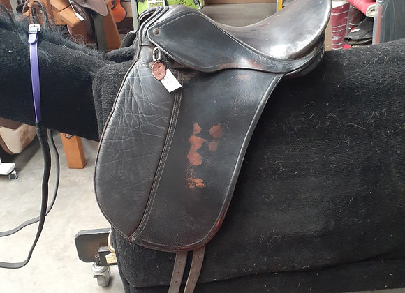 Kids first dressage saddle