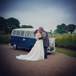 the little blue bus wedding company