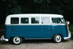 the little blue bus