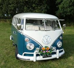 Bluebelle, the little blue bus