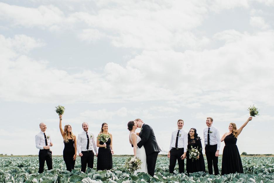Westham Island Wedding