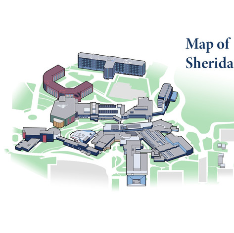 Map of Sheridan College
