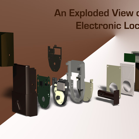 An Exploded View of Electronic Lock
