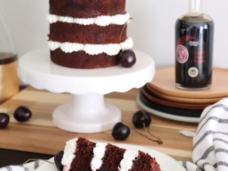 Balsamic Forest Cake