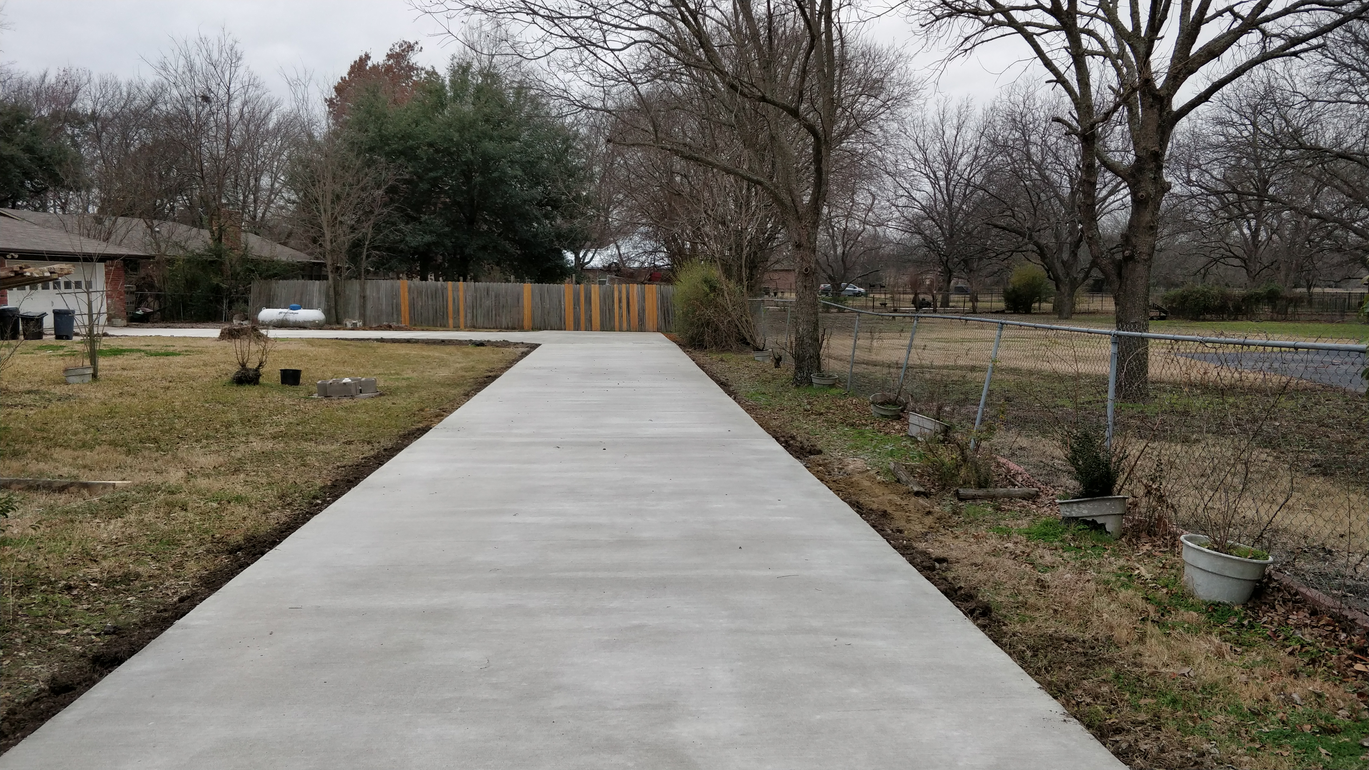 New Driveway -  Sunnyvale, TX