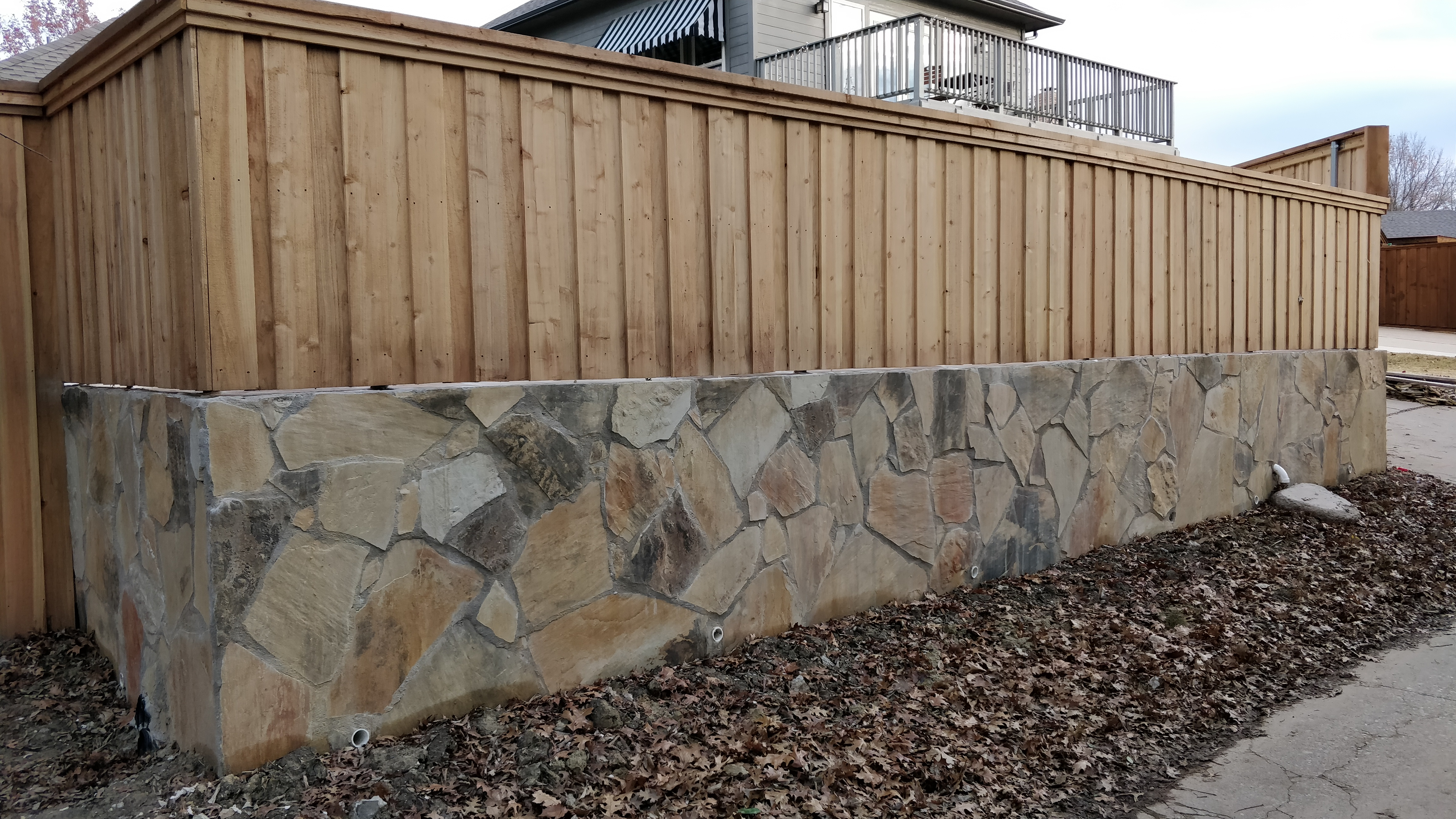 Retaining Wall/Fence - Rockwall, TX