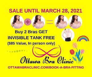 Ottawa Bra Clinic Spring Sale Buy 2 Bras