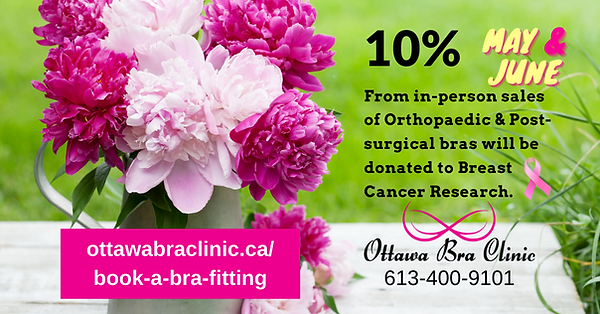 Ottawa Bra Clinic Fundraiser Breast Canc
