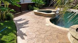Restored Pool Deck - Carrollton, TX