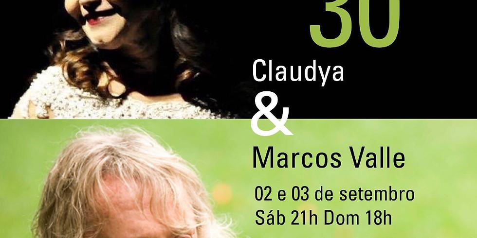 Com Marcos Valle e Claudya