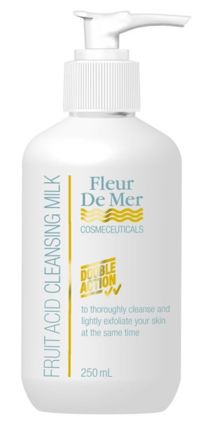 Fleur de Mer Fruit Acid Cleansing Milk 250ml