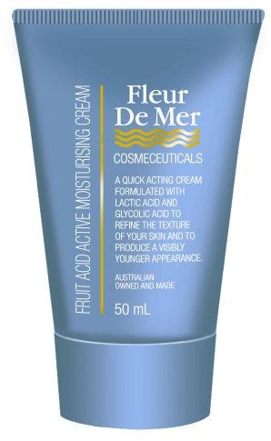 Fleur de Mer Fruit Acid Moisturising Cream 50ml