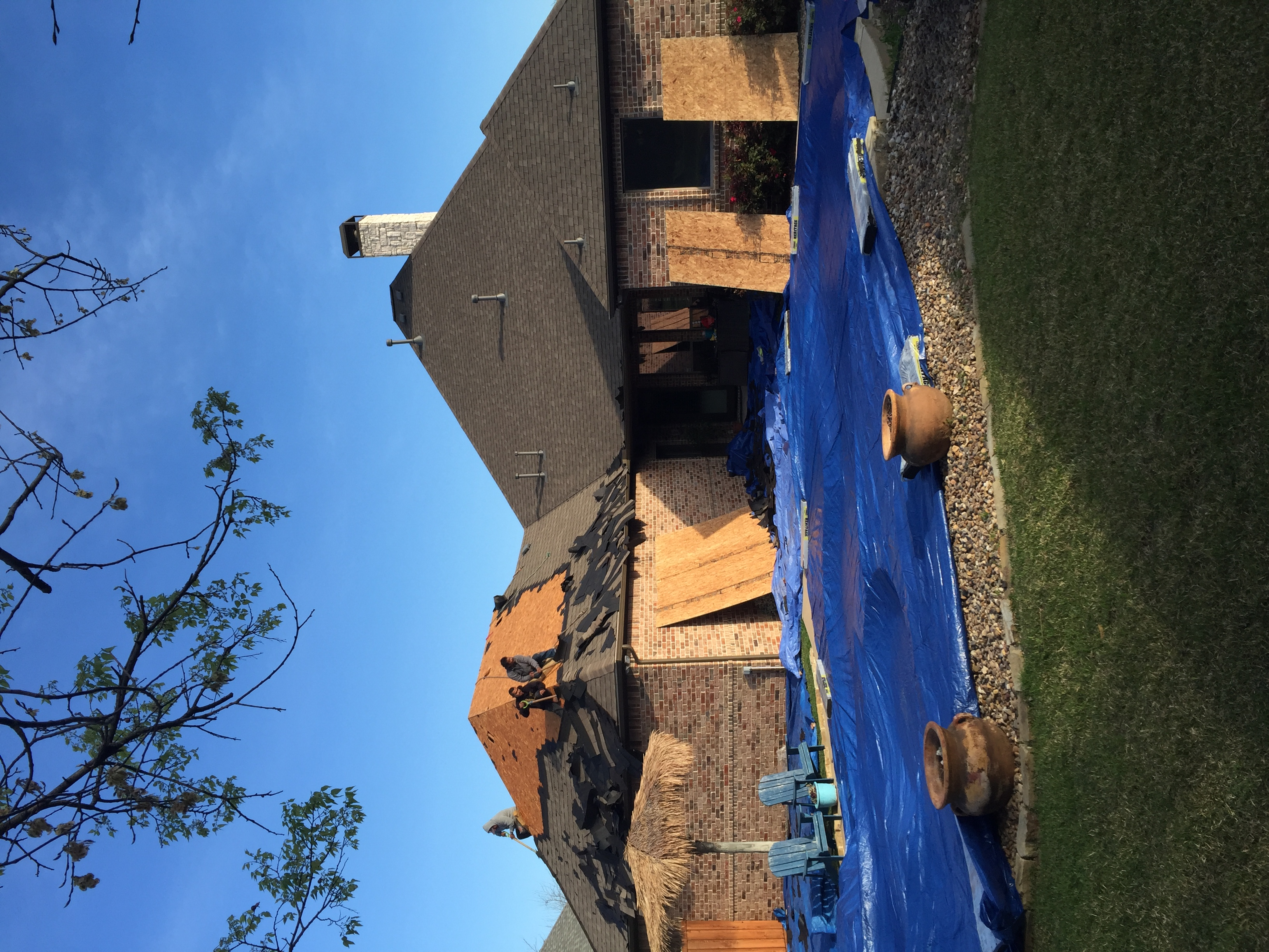 Roofing Repair Project