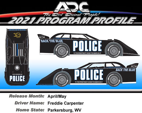 Freddie Carpenter #4C 2021 (Preorder)