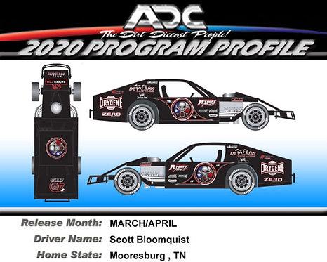 Scott Bloomquist #0 2021 (Texas Modified Preorder)