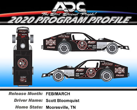 Scott Bloomquist #0 2021 (Vegas Casino Modified Preorder)