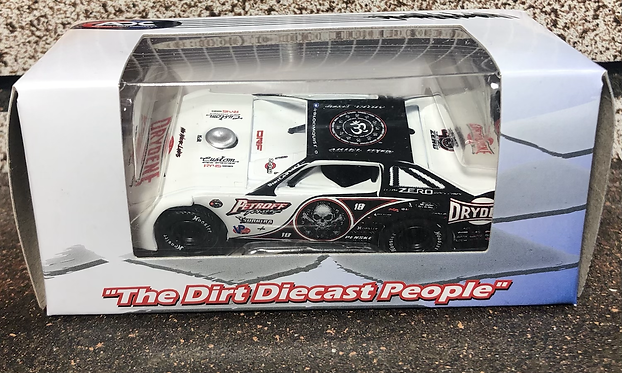 Scott Bloomquist #0 2020 (White Car)