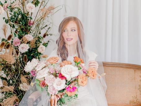 Floral Fashion Bridal Shoot