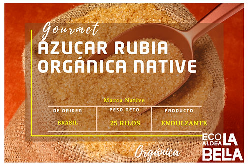 Ázucar Rubia Orgánica 1K T