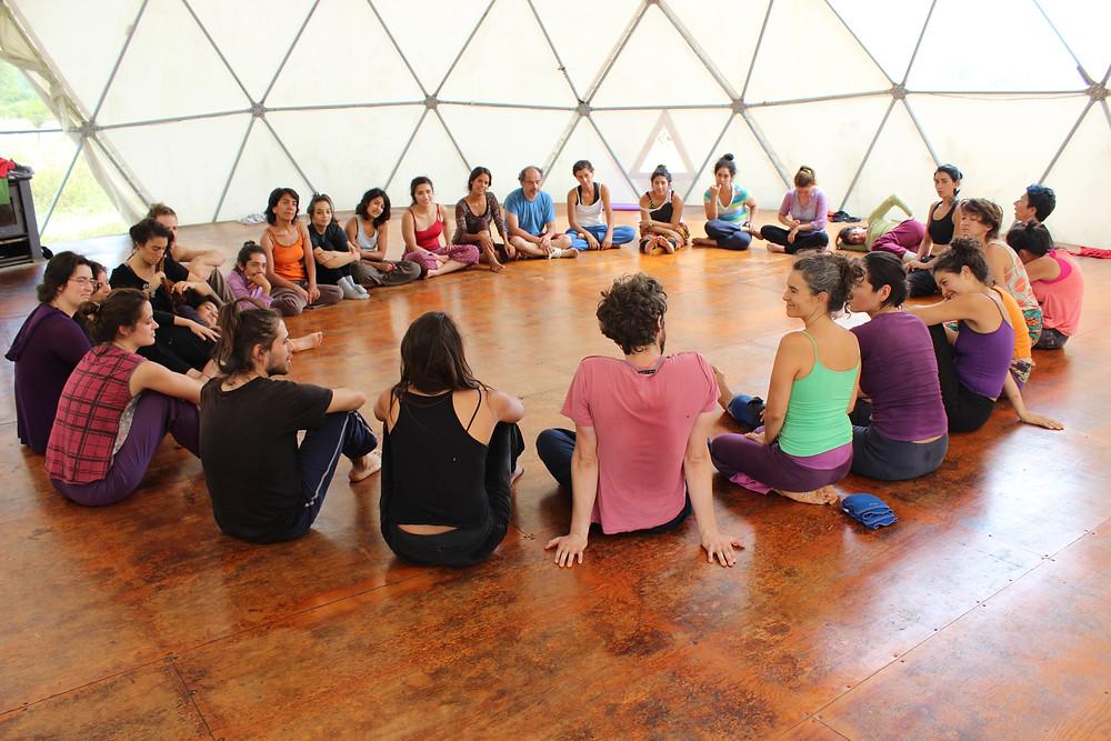 Encuentro + conciencia + sustentable + arte + seminario