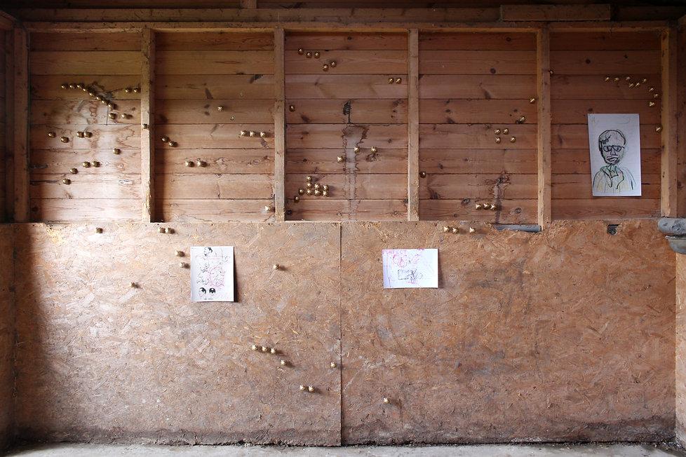 bill arning horse shed room1 wall1.jpg