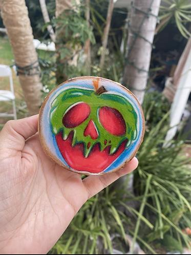 Green poison apple