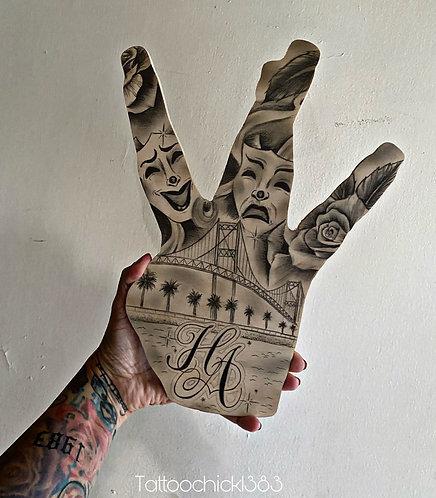 Harbor Area dub hand