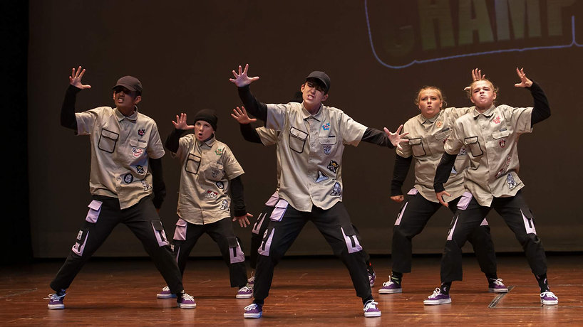 Jaye's Dance studio Hip Hop Varsity Crews Rangers Seekers