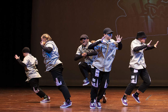 Jaye's Dance studio competition Junior Hip Hop Crews Micropack Mighty Pack